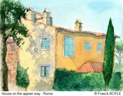 House on the appian way