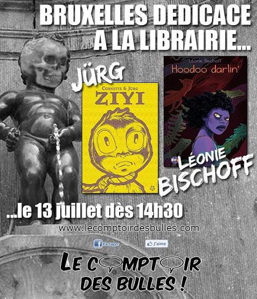 Jürg & Léonie BISCHOFF en dédicace