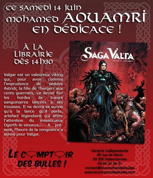 Mohamed Aouamri : Saga Valta