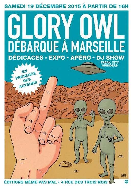 Dédicace : Glory Owl