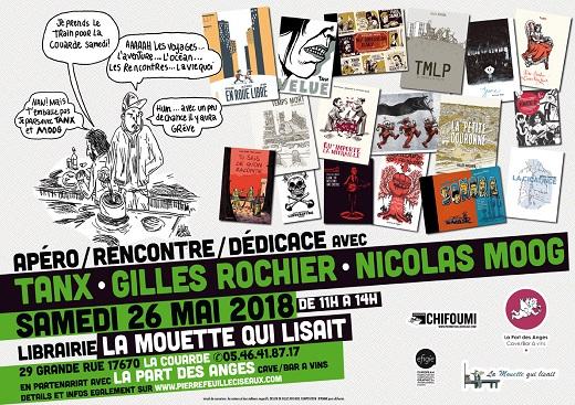 Rencontre avec Tanx, Nicolas Moog et Gilles Rochier