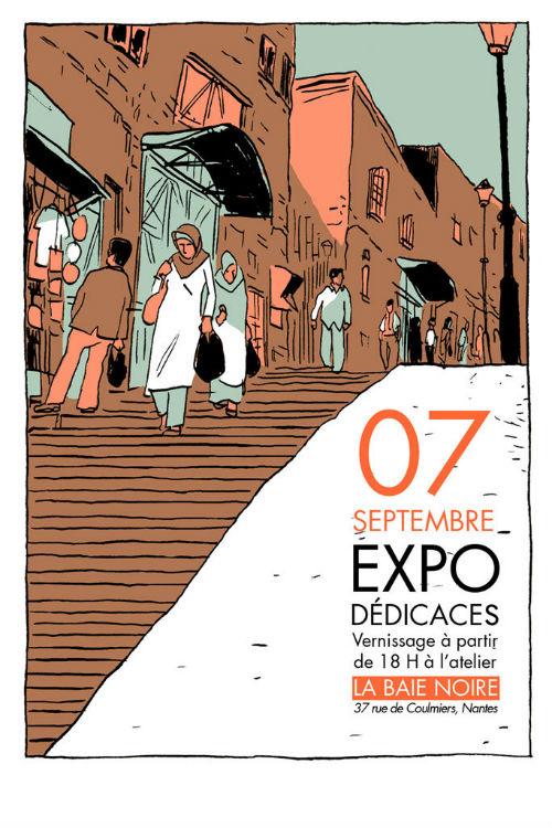 Expo Dédicace à l'atelier La Baie Noire