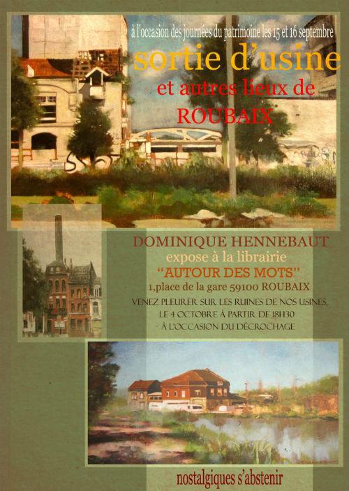 Expo Sortie d'usine et autres lieux de Roubaix