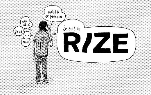 Expo : Gilles Rochier est au Rize