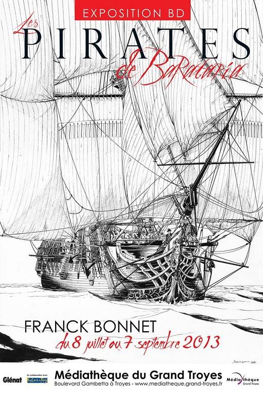 Affiche : Les pirates de Barataria