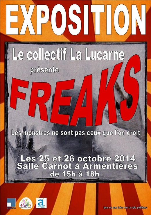 Expo : Freaks a Armentieres