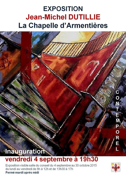 Expo : Contemporel - Jean-Michel Dutillie