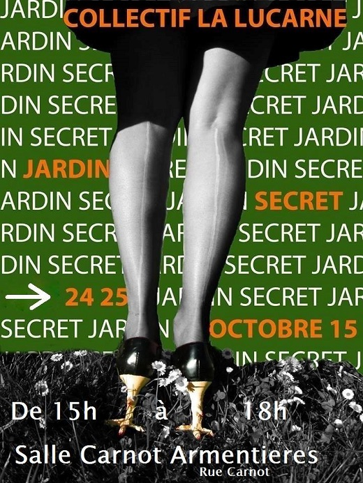 Expo : Jardin Secret
