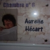 Chambre d'Aurélie Hécart