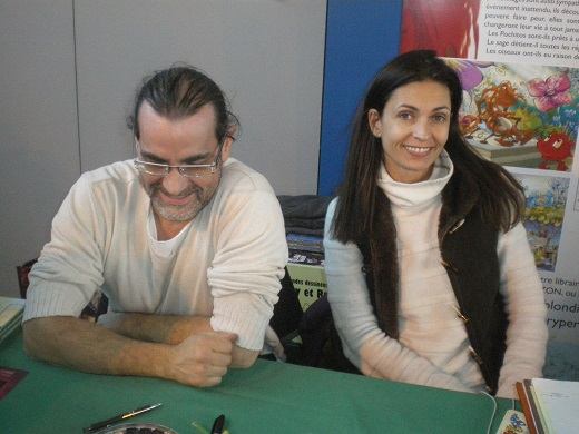 Fabien Rypert et Adeline Blondieau