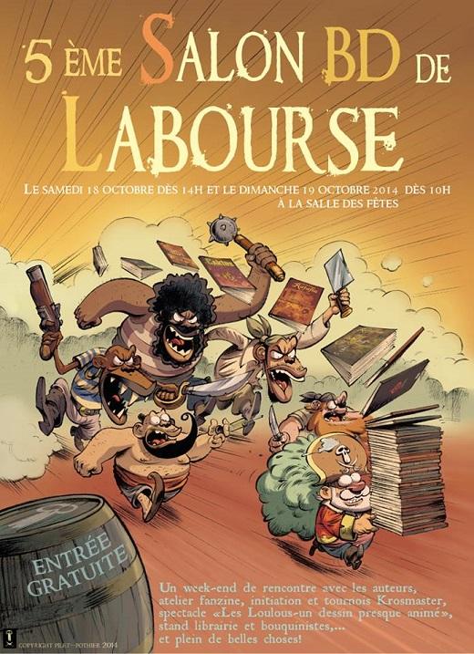 Affiche du Festival BD de La Bourse #5