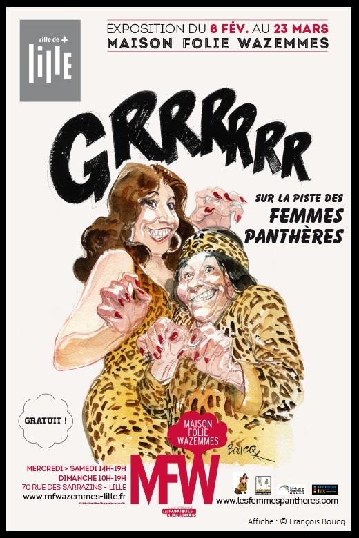 Exposition GRRRRRR !!! ... sur la piste des Femmes Panthères