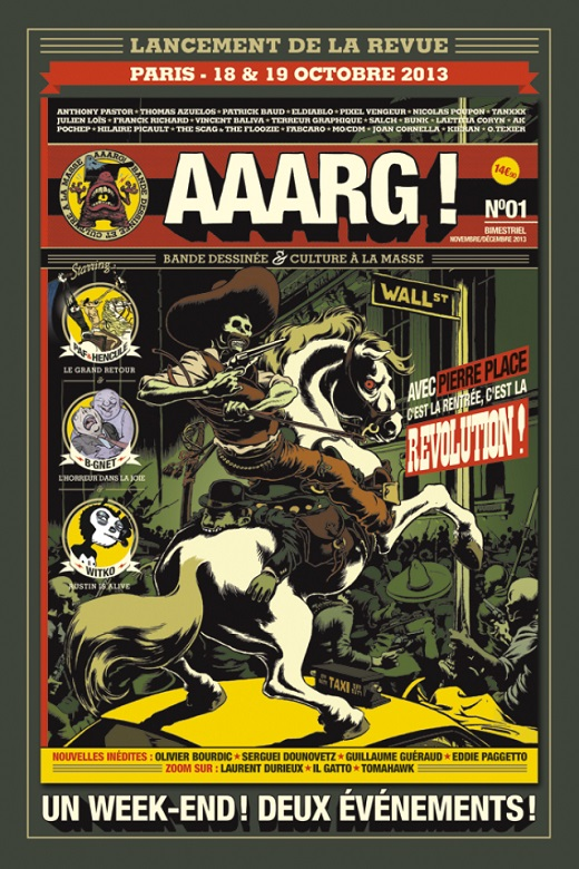 Lancement AAARG