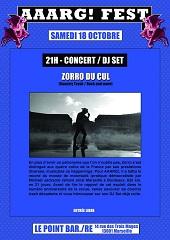 Concert/DJ Set : ZORRO DU CUL