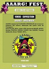 Vernissage d'exposition : AAARG! : ORIGINAUX