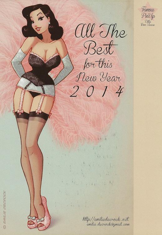 voeux-2014 Emilie Decrock
