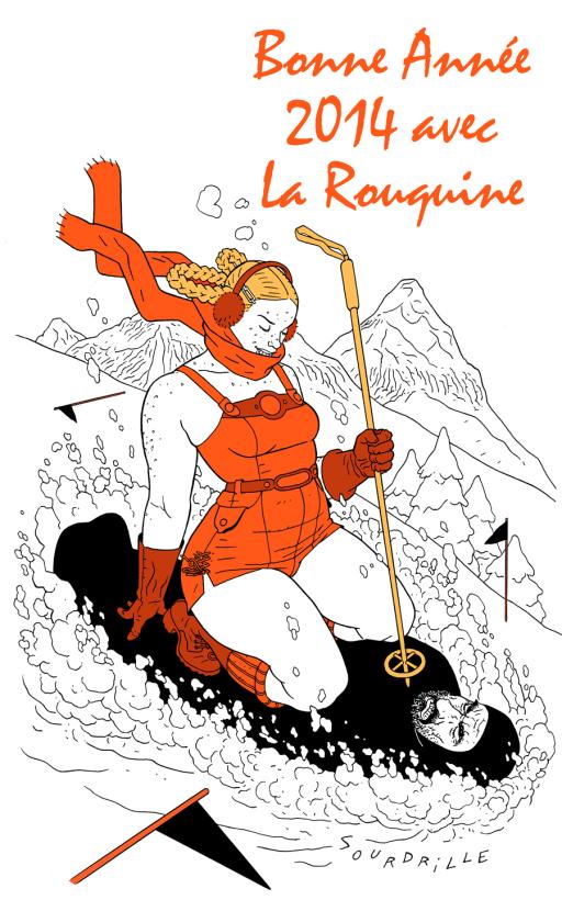 voeux-2014 Editions La Rouquine