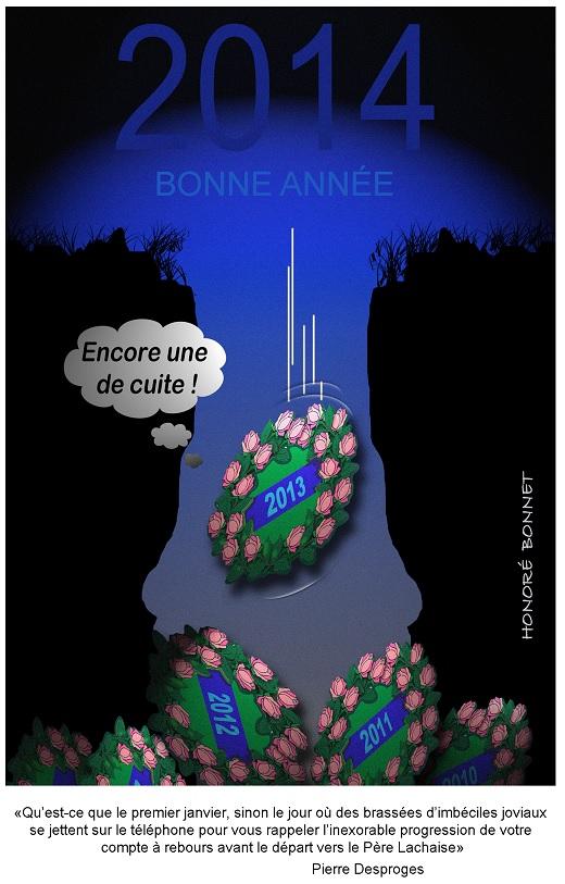 voeux-2014 Honoré Bonnet