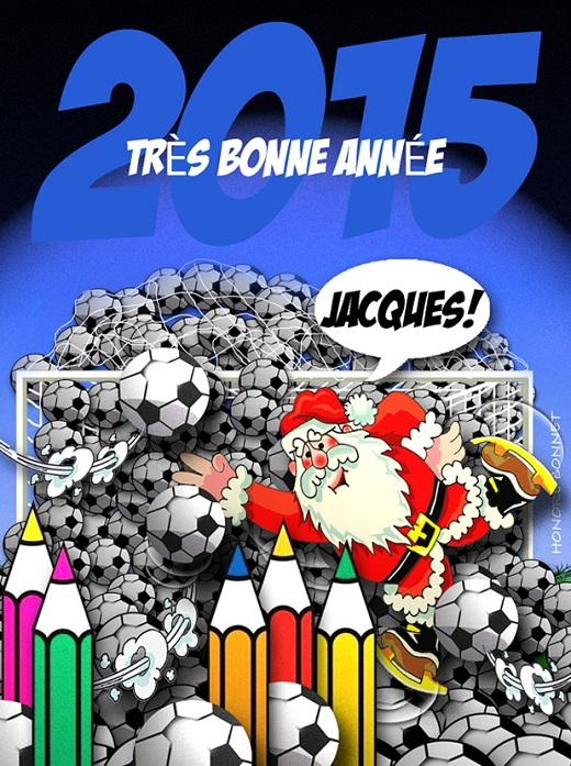 voeux-2015 Honoré Bonnet