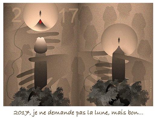 voeux-2017 Honoré Bonnet