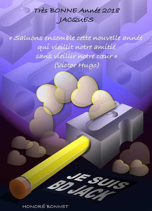 voeux-2018 Honoré Bonnet